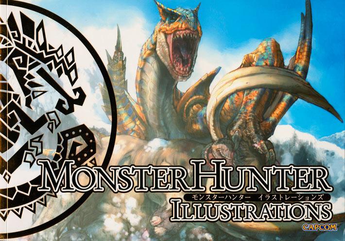 Monster Hunter Illustration book