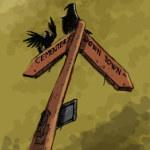cuervos en el cartel