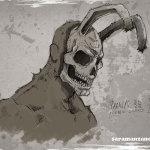 Frank el conejo (Donnie Darko) por Sara Manzano