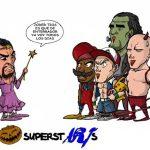 Luchador Undertaker en Halloween