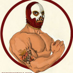 Luchador de lucha libre mejicano