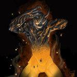Diablo de lava