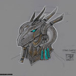 Stargate allternative Helmet by Sara Manzano